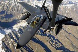 ARW Army Fighter Plane in Air on Mouintain HD Wallpaper