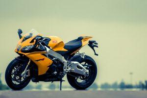 Best Aprilia Yellow Bike HD Photo