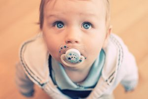Cute Baby With Blue Eye HD Desktop Wallpaper Background