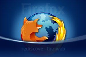 Firefox Rediscover Logo