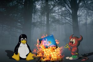 Linux and Unix Fire Logo