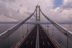Long and Heavy Bridge Wallpaper
