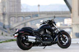New Harley Davidson on Road HD Photo Background