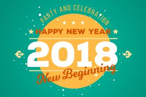 Party and Celebration New Year 2018