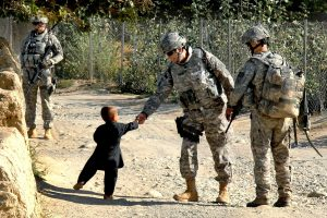 Army With Child