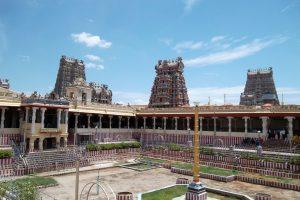 Meenakshi Amman Hindu Temple in Tamil Nadu India