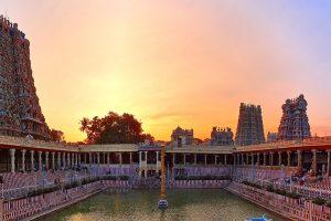 Meenakshi Amman Temple in India