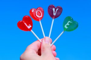Super Love Candie in Hand HD Image Pic