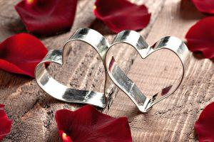 Steel Ring Heart