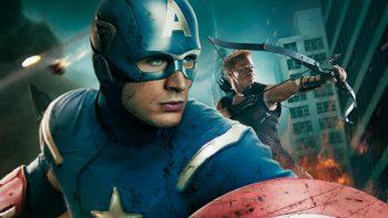 Captain America in Avengers Movie Wallpaper HD Download