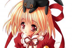 Anime Girls Download HD Wallpaper For Desktop Red Face Full HD