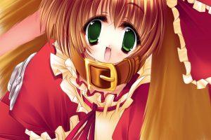 Anime Girls Download HD Wallpaper For Desktop Red Suite Full HD
