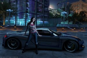 Need For Speed Carbon Girl Full HD Wallpaper Download