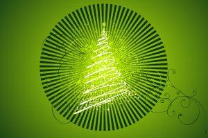 Vector Chirstmas Tree Design Download Full HD Wallpaper