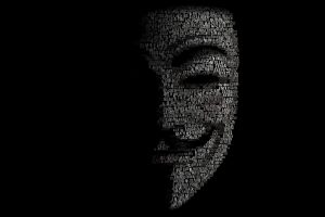 Anonymous Mask Sadic Dark Anarchy Hacker Hacking Vendetta High Resolution iPhone Photograph
