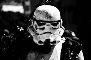 Star Wars Stormtrooper Bw