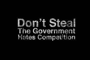 Text Quotes Funny Government Black Background Photograph Photo