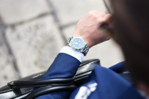 Business Suit Watch Shoe