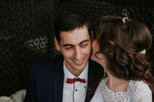 Girl Kissing Man