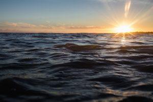Ocean Sun Set View