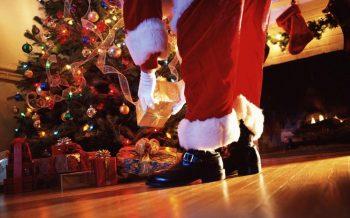 Santa Preparing For the Christmas