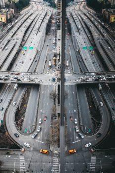Traffic Free Road