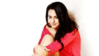Actress Sonakshi Sinha in Red Dress HD Pic