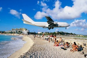 Airplane On Beach