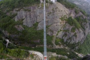 Amazing Glass Bridge in China