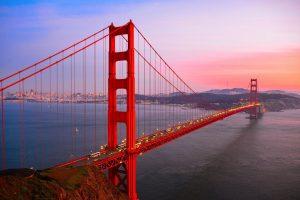 Amazing Golden Gate Bridge San Francisco California US
