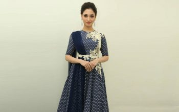Beautiful Actress Tamannaah Bhatia in Dress
