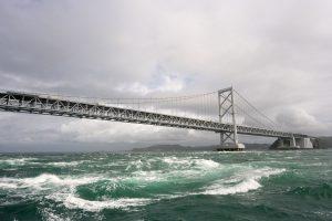 Beautiful Bridge on Sea