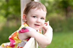 Beautiful Cute White Baby Girl HD Wallpaper