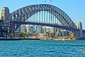 Beautiful Sydney Harbour Bridge in Australia