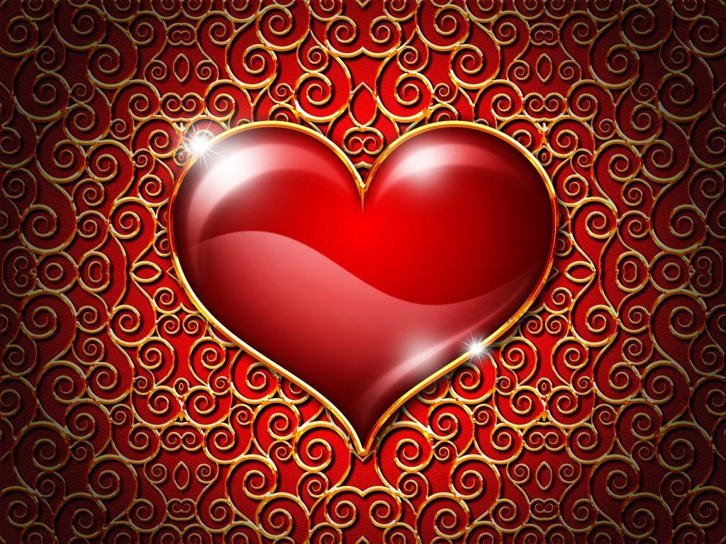 Heart In Love Wallpaper Hd: Download HD Wallpaper For Free