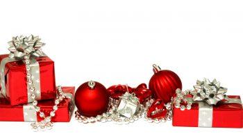 Christmas Red Colour Ball