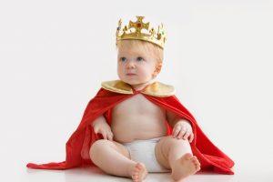 Cute King Baby Wallpaper