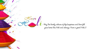 Festival of Color Holi Greeting Wishes