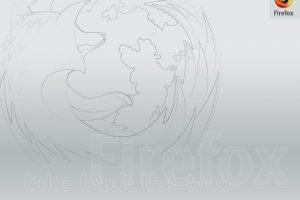 Firefox Logo Drawing