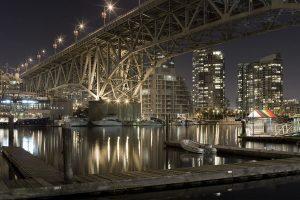 Granville Street Bridge in Canada