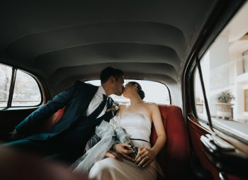 Kiss in Car