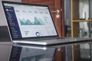 Laptop Business Graph