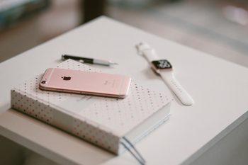 Mobile I Pone Wtach Diary