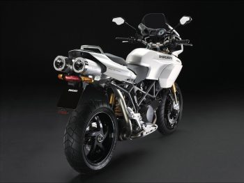 New Ducati White Popular Bike HD Wallpaper