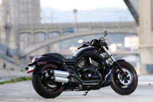 New Harley Davidson on Road HD Photo Background