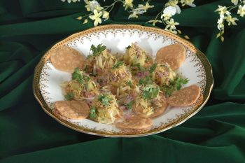 Papdi Puri Gujjus People Popular Favourite Dish