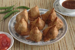 Rajasthani Testfull Samosa Dish Photo