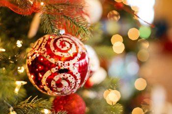 Red Christmas Ball Design