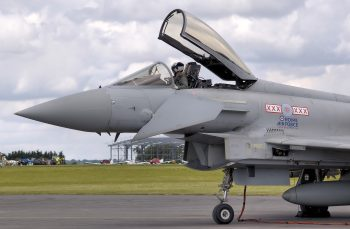 Royal Airforce Soldier Driving Fighter Plane