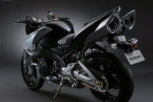 Suzuki Bike with Power Booster Two Silencer Image